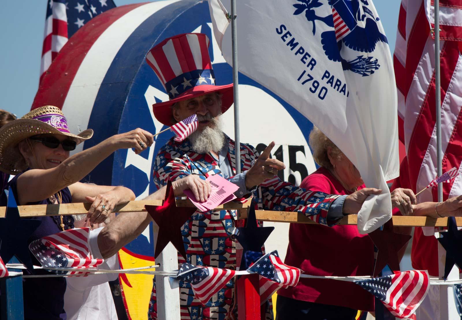 Alameda 4th of July parade, USA