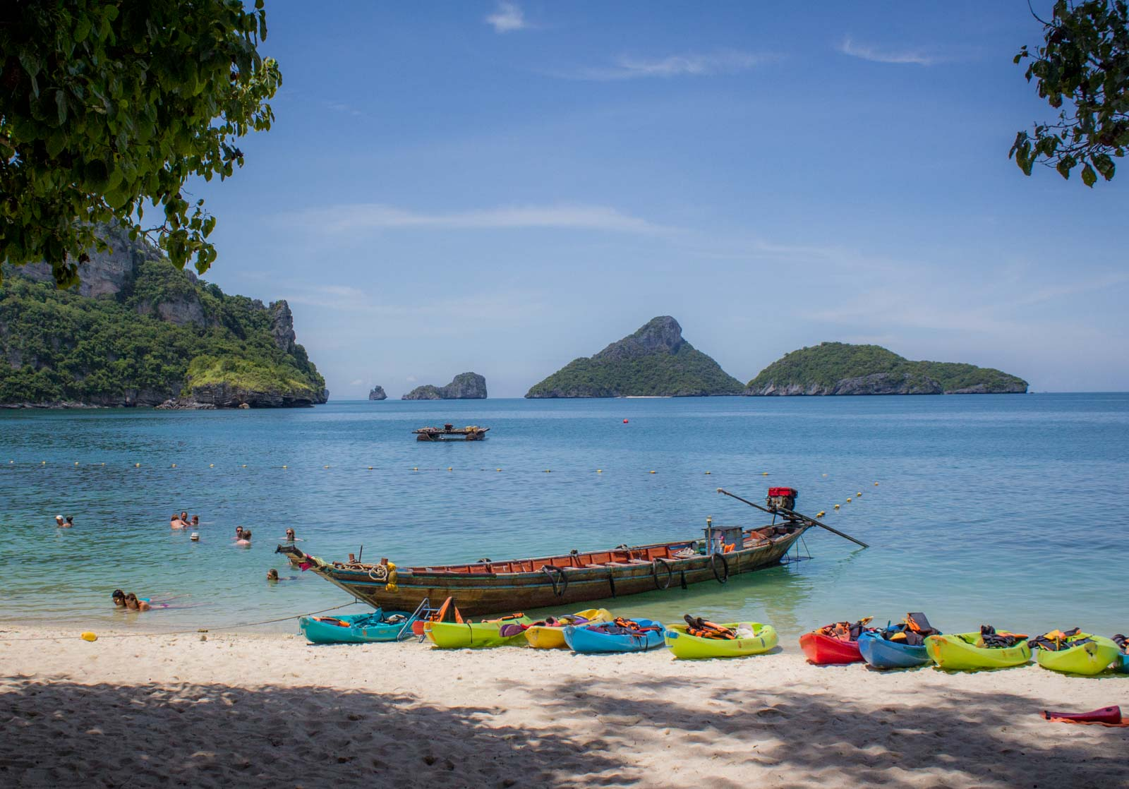 Finding The Beach from the movie from Koh Samui, Thailand