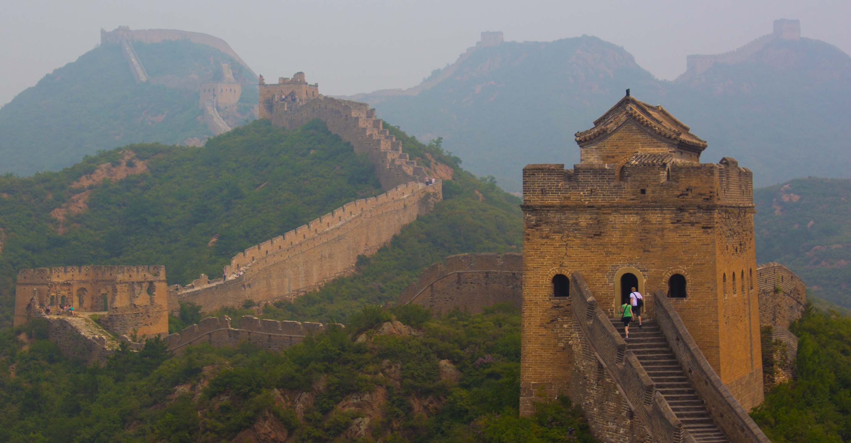 Visiting The Great Wall Of China From Beijing
