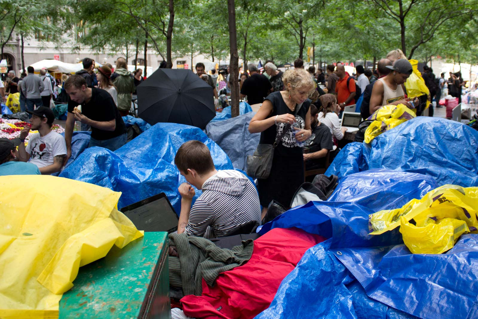 Occupy Wall St New York