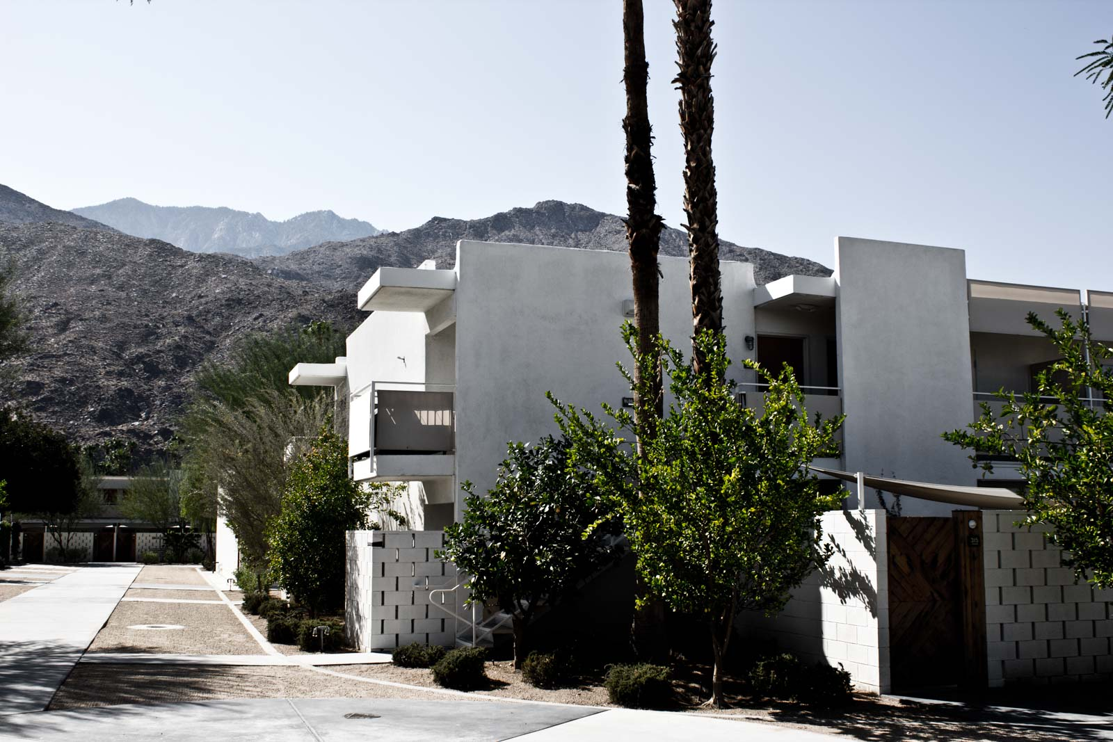 The Ace Hotel in Palm Springs, California, USA