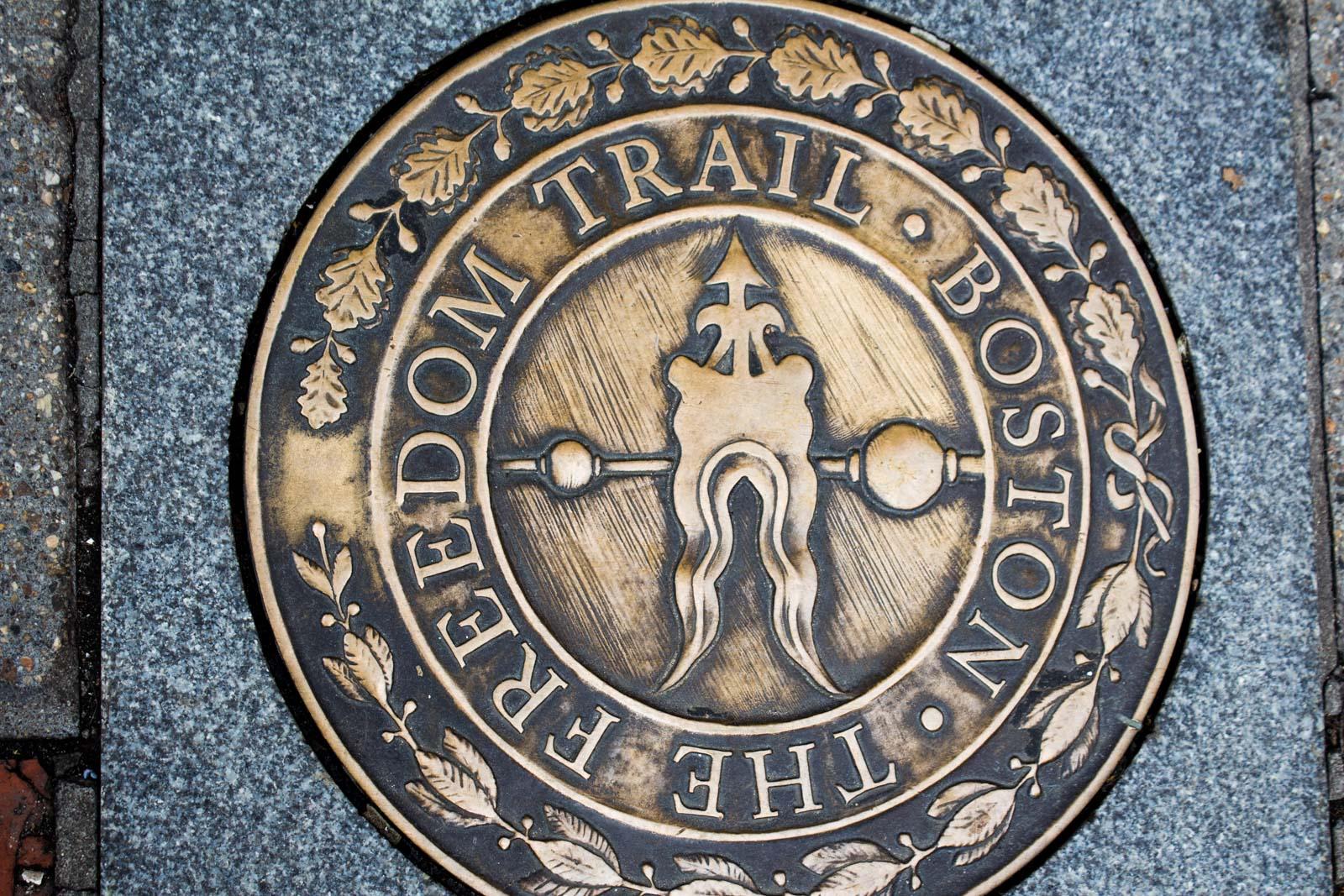 Visiting the Boston Freedom Trail, USA