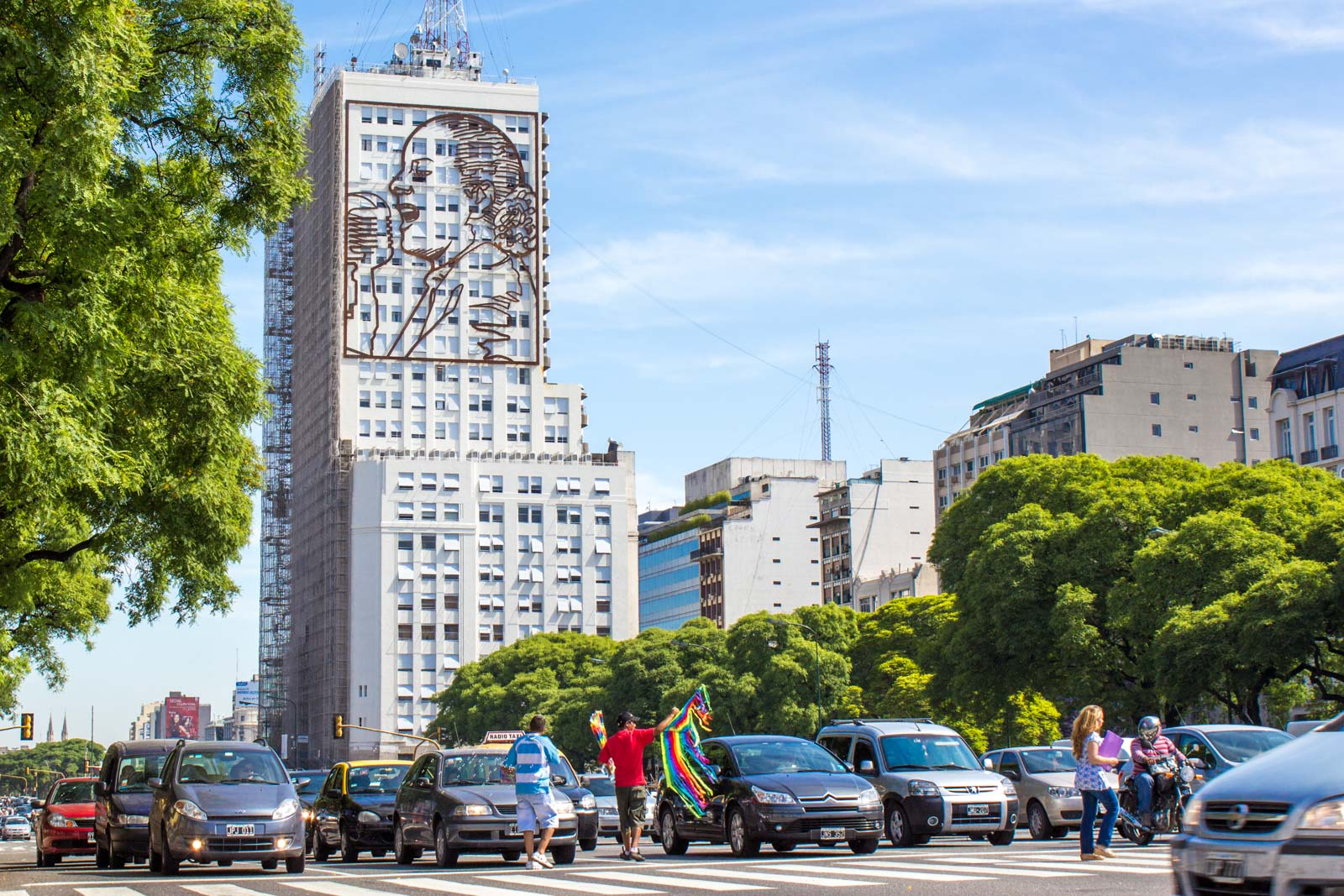 Widest avenue in the world, Buenos Aires, Argentina