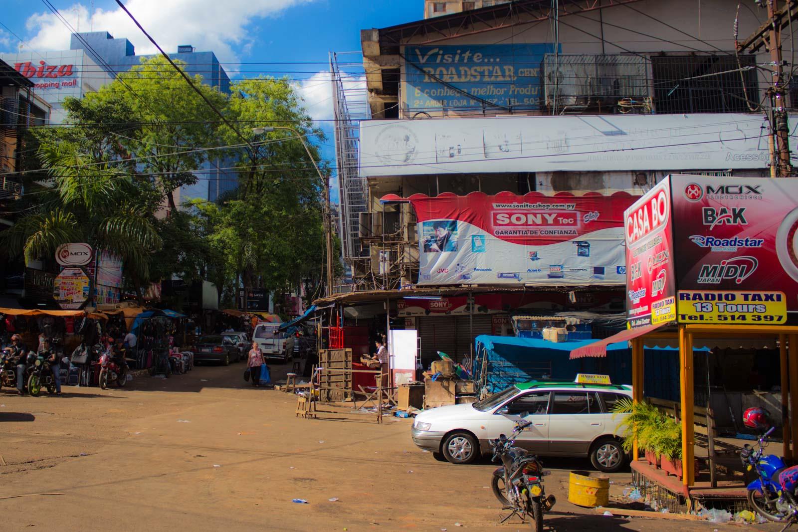 Visiting Ciudad del Este in Paraguay