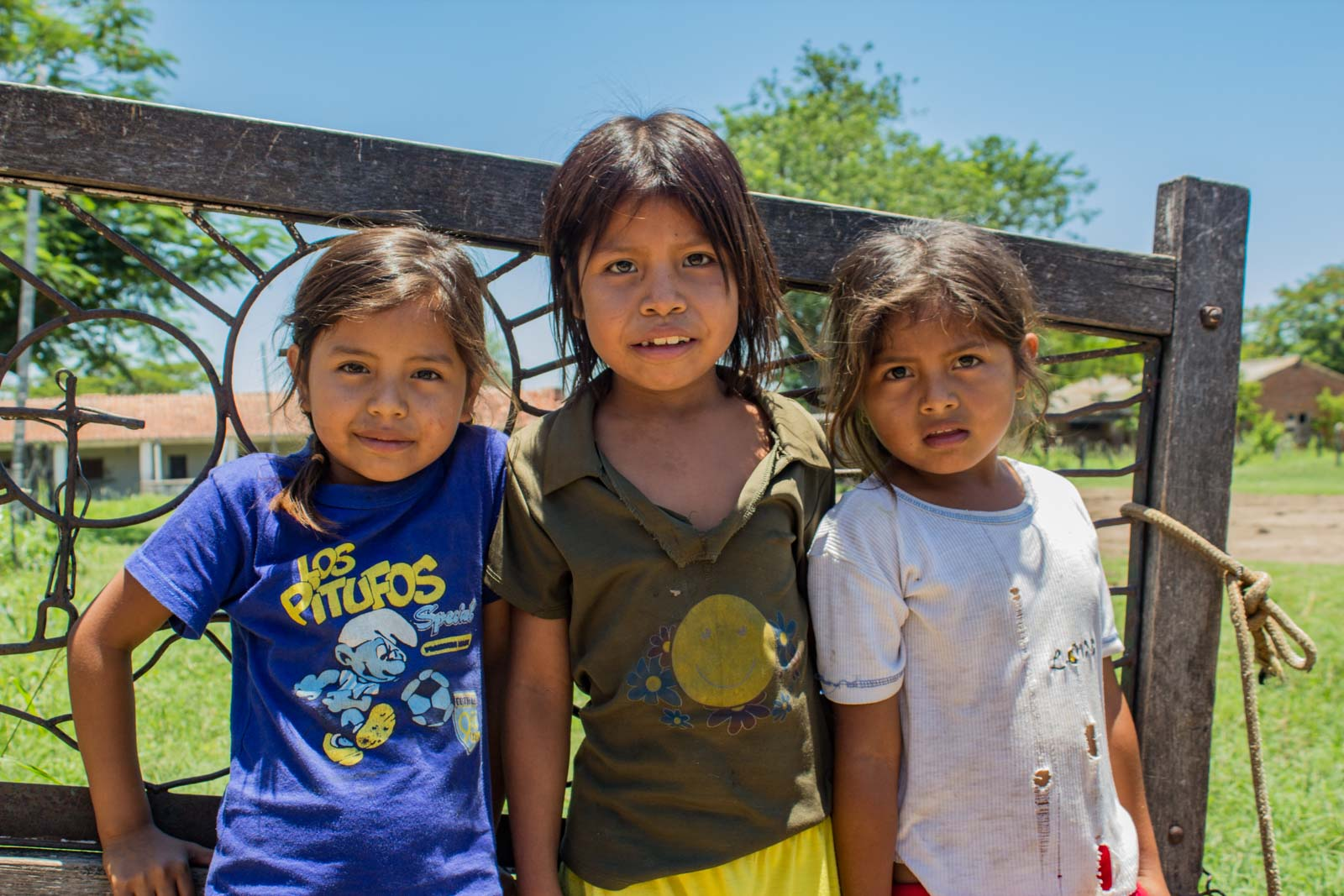 Visiting indigenous communities in Paraguay