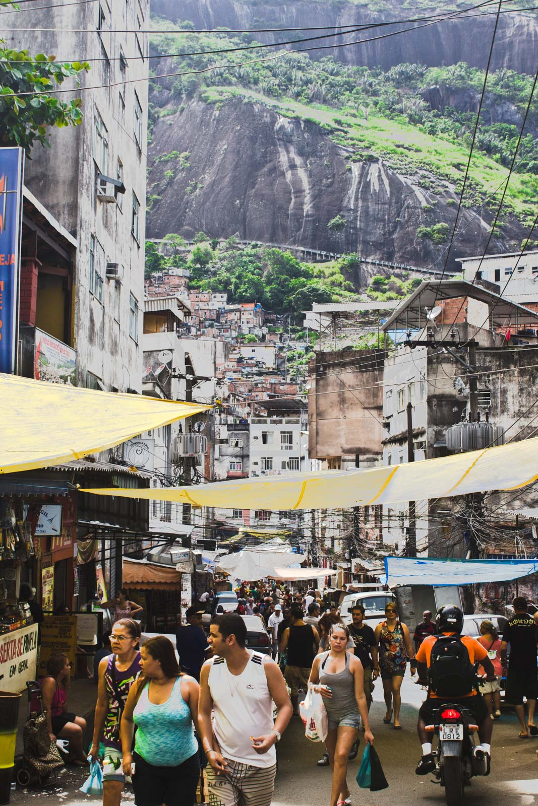 What's it like in Rio's favelas?