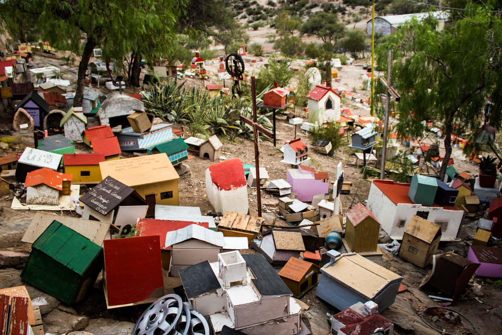 difunta correa, argentina, travellers saint, vallecito, roadside shrines