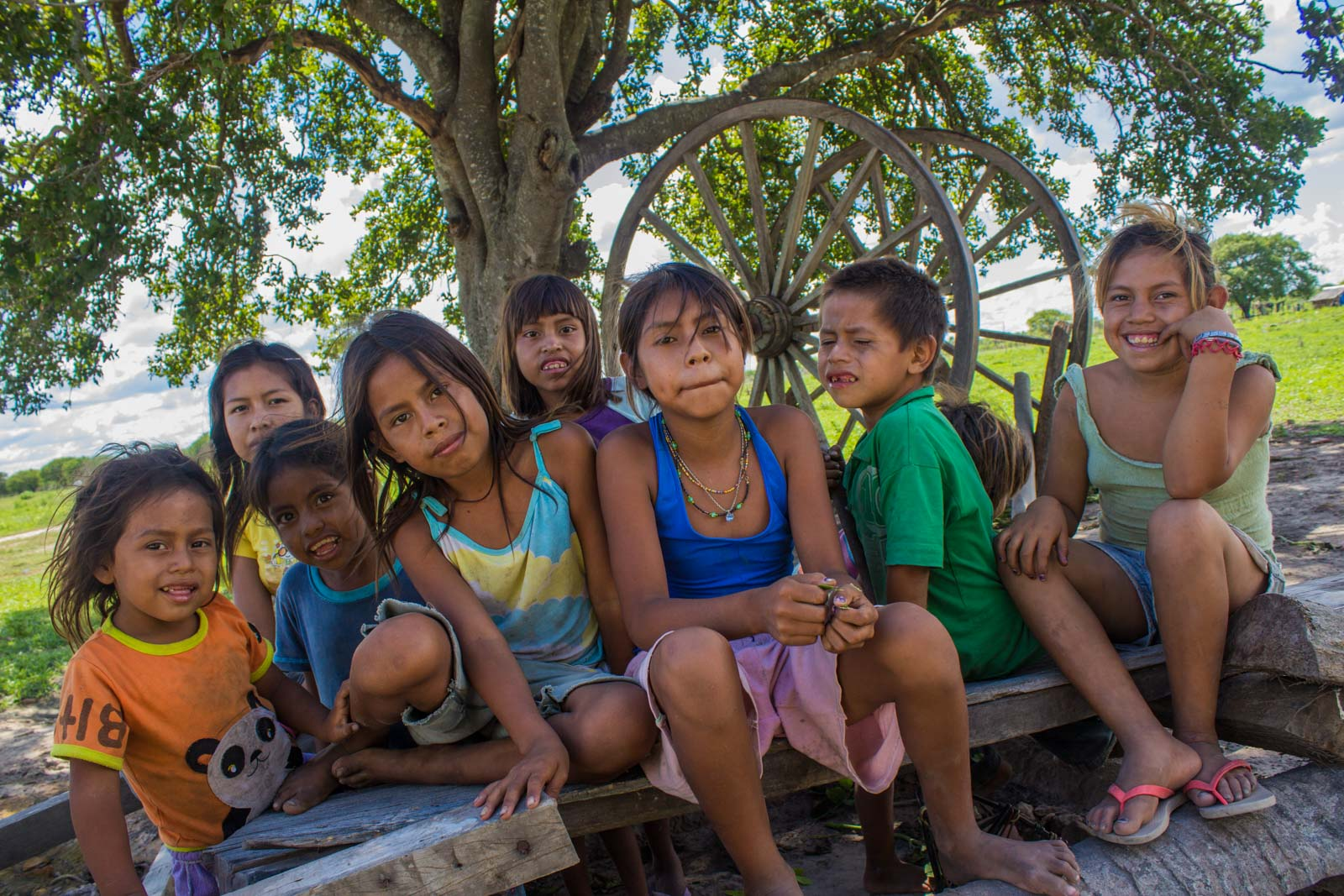 paraguay indigenous native tribes survival international near concepcion