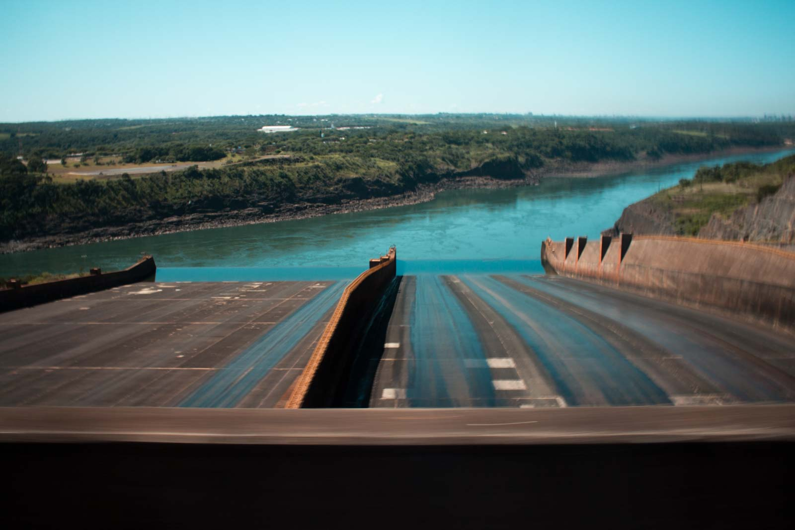 visiting itaipu dam in paraguay, the biggest dam in the world