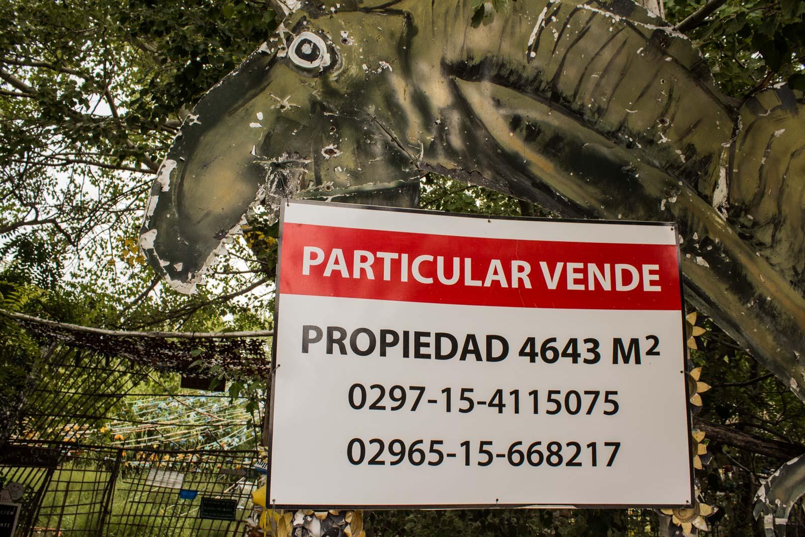 Parque El Desafio, Gaiman, Argentina