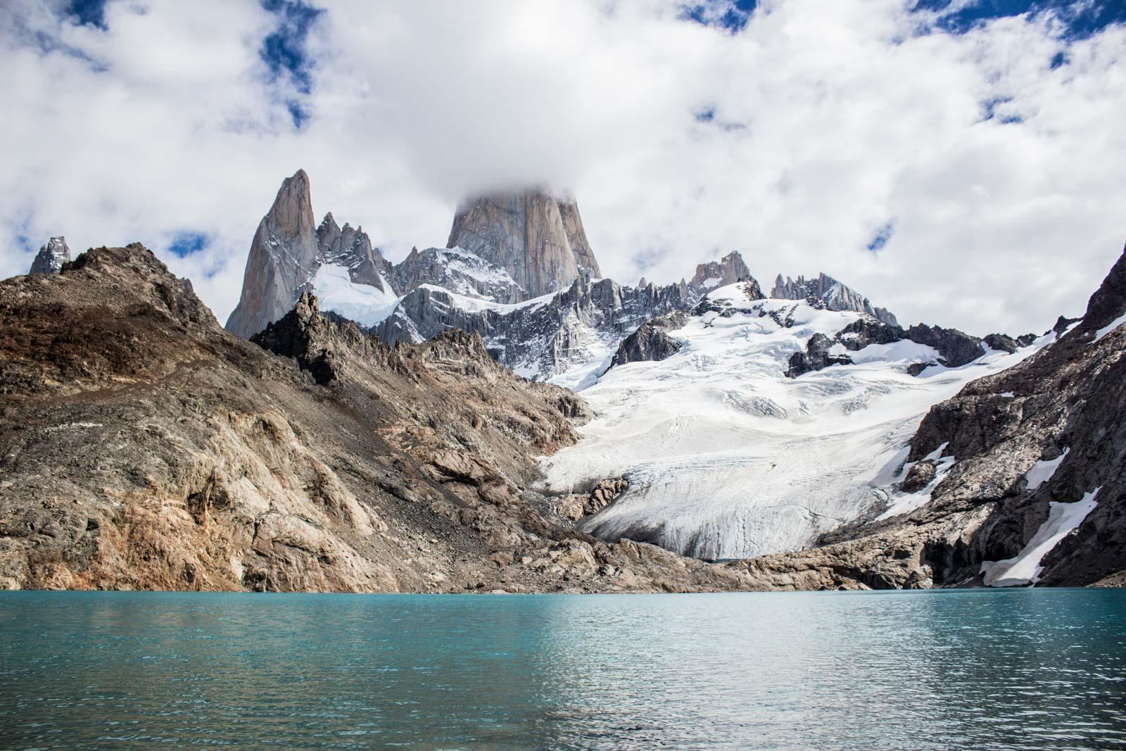 Mount Fitzroy, El Chalten hiking, Patagonia, Argentina