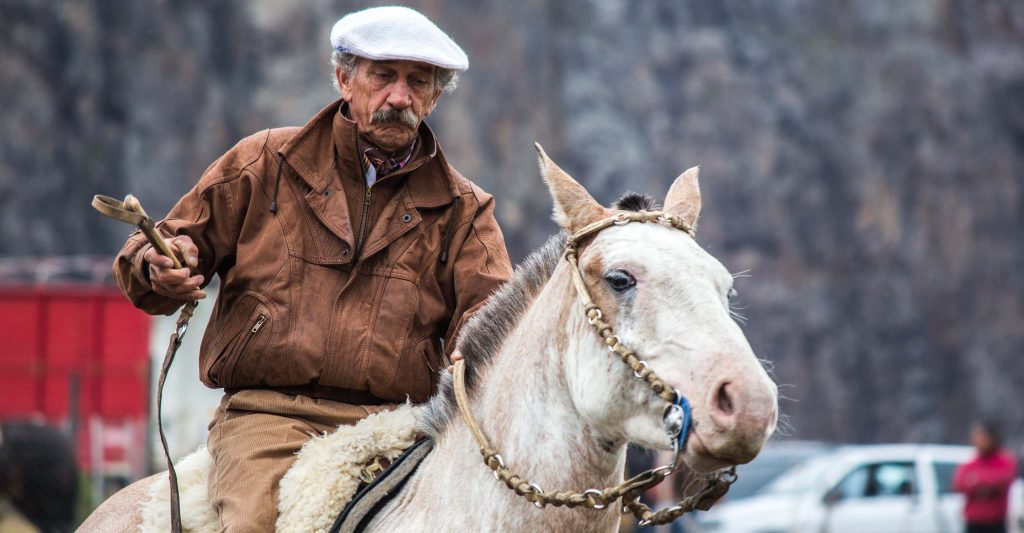 Rodeo in the mountains: Gauchos in Argentina