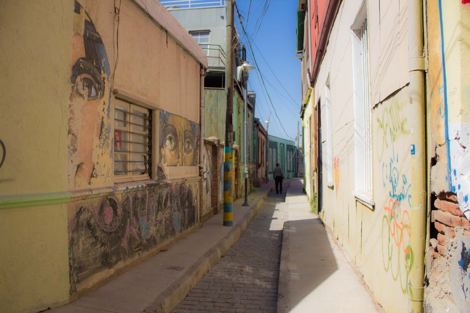 Visiting Valparaiso in Chile