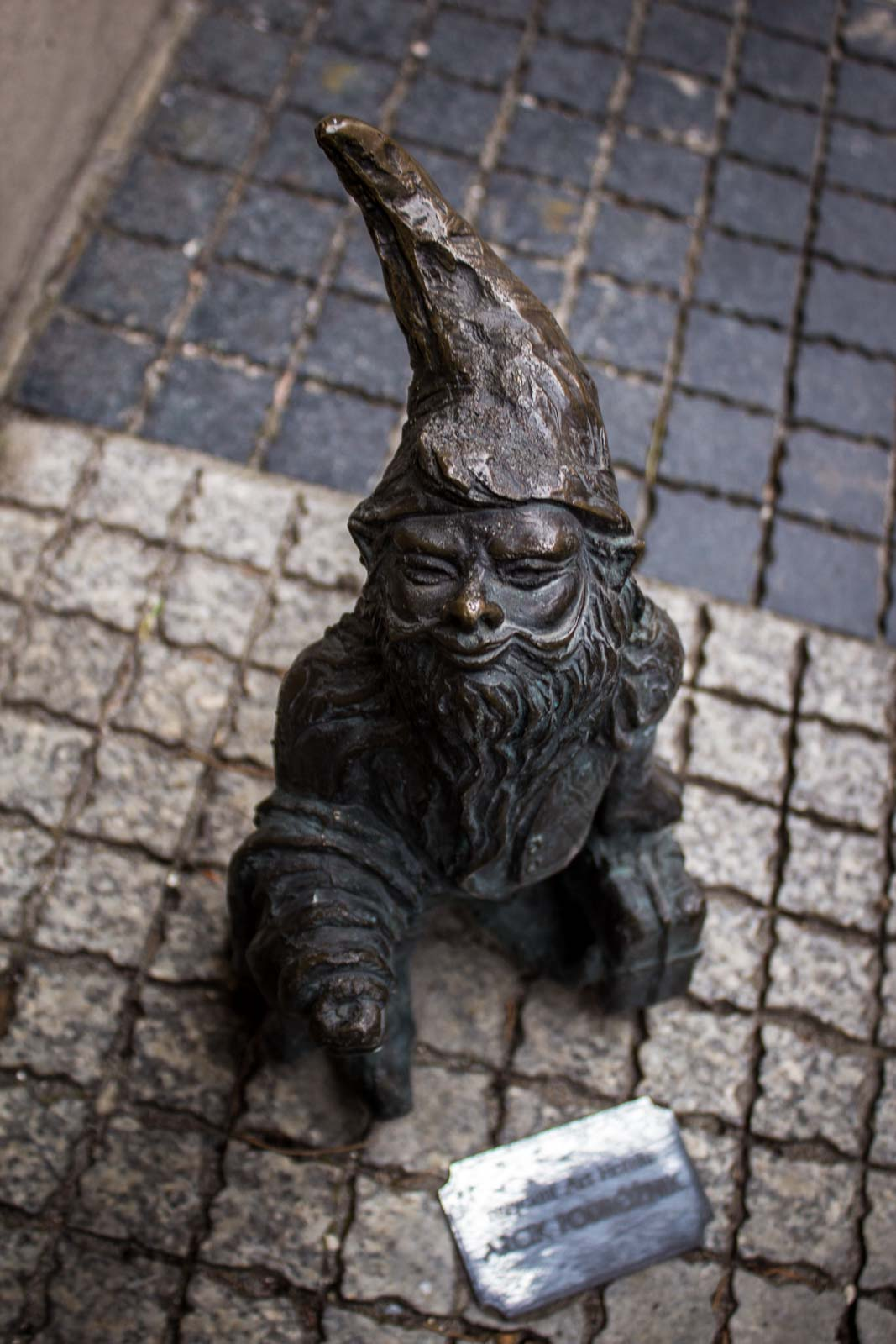 The gnomes of Wroclaw, Poland