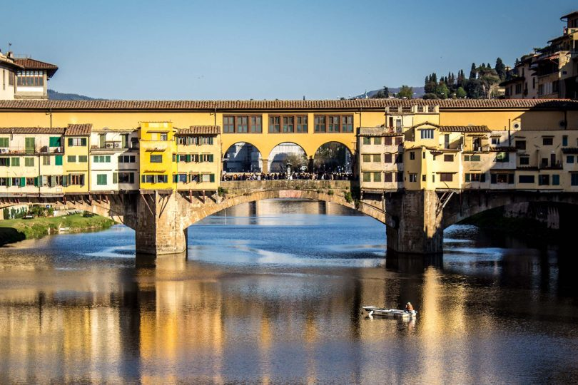 ponte vecchio florence, history, hitler, italy