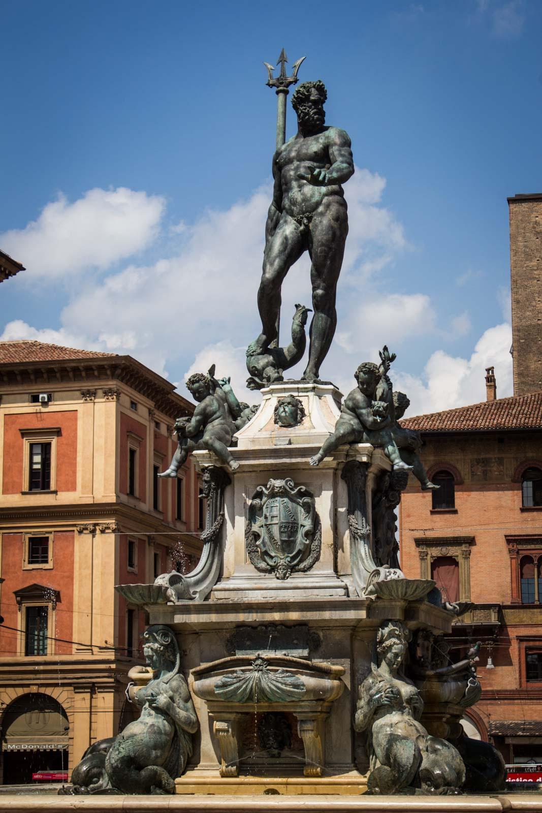 Bologna, the capital of Emilia Romagna, Italy