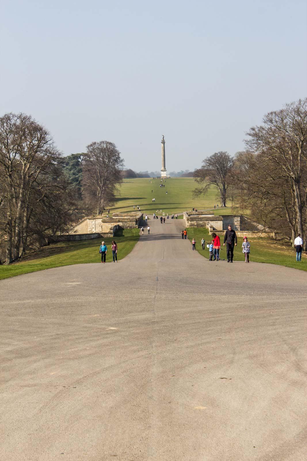 Visiting Blenheim Palace near Oxford, England