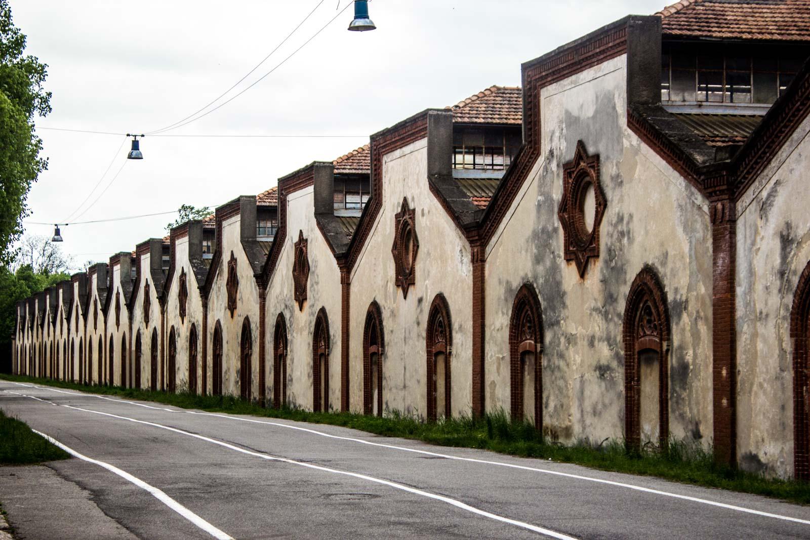 Crespi d'Adda near Milan, Italy