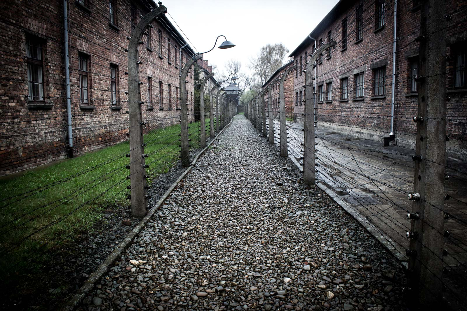 Visiting Auschwitz German Concentration Camp, Poland