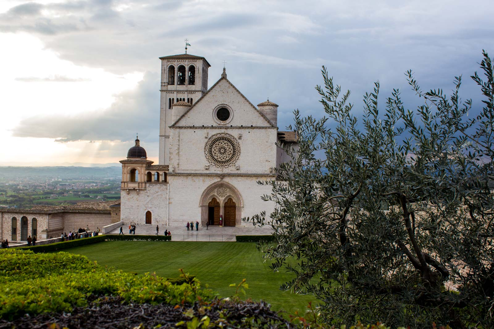 World Heritage Site in Assisi, Italy