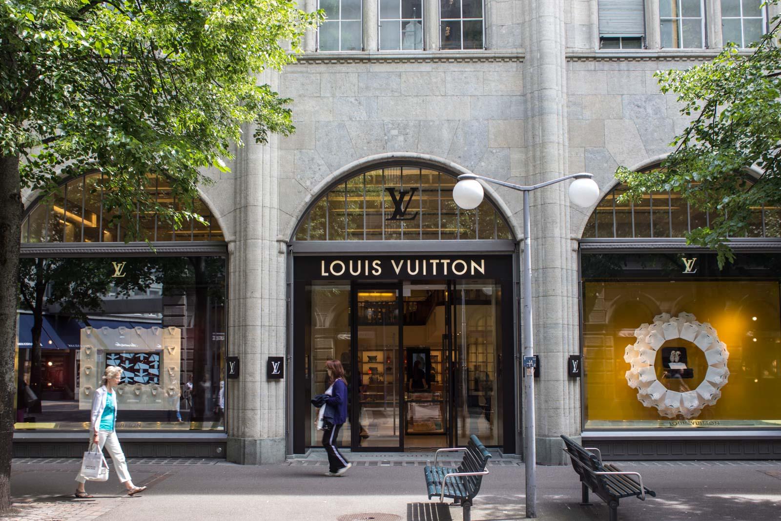 Most expensive shopping street in the world, Zurich, Switzerland