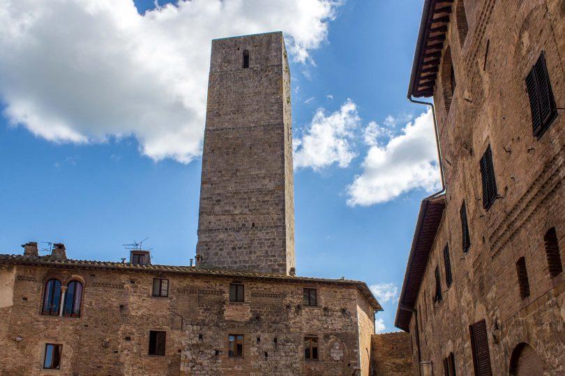 San Gimignano, towers, Tuscany, Italy