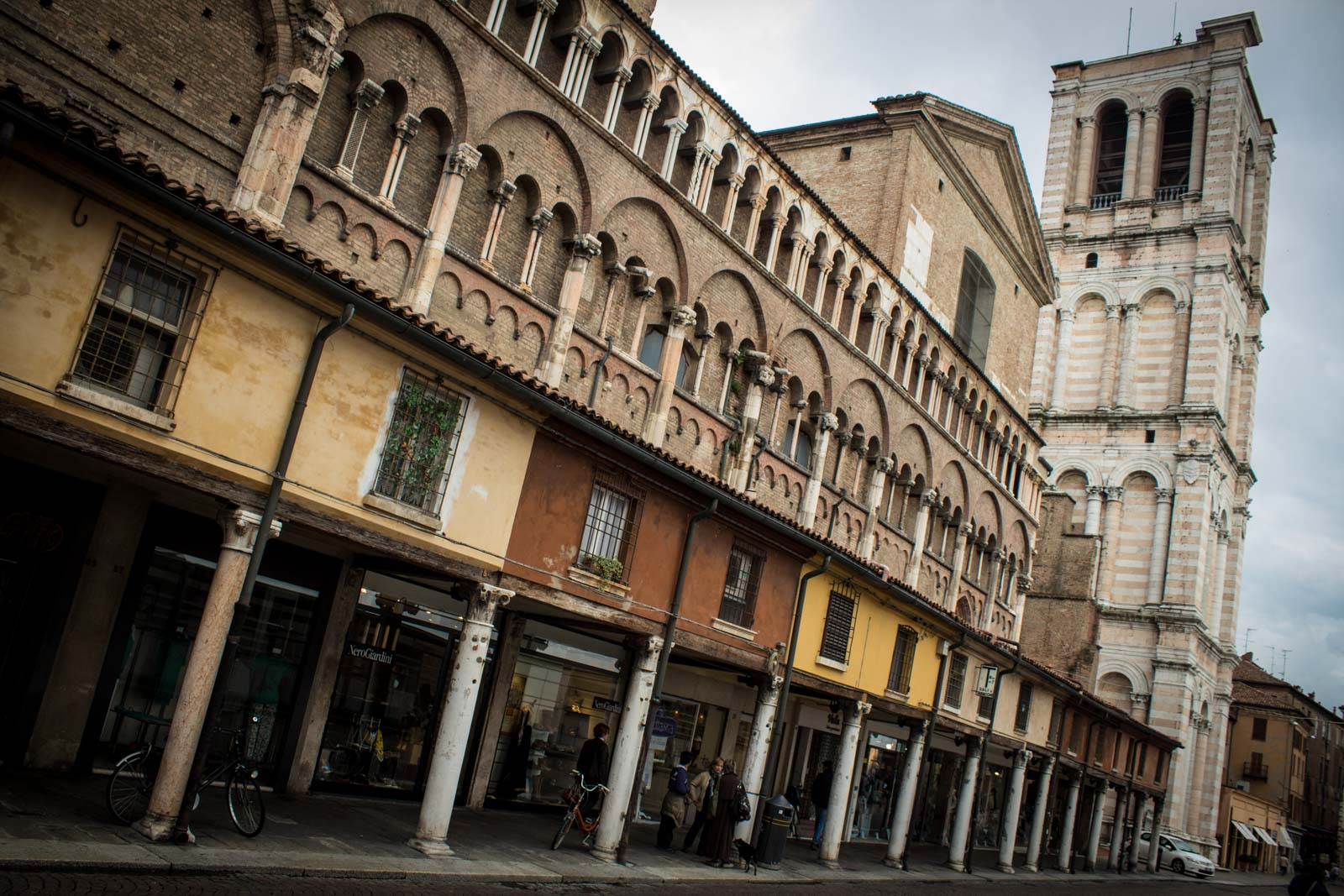 World Heritage Site of Ferrara, Italy