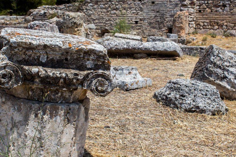 Epidaurus Sanctuary and Theatre at Asklepios, Greece,