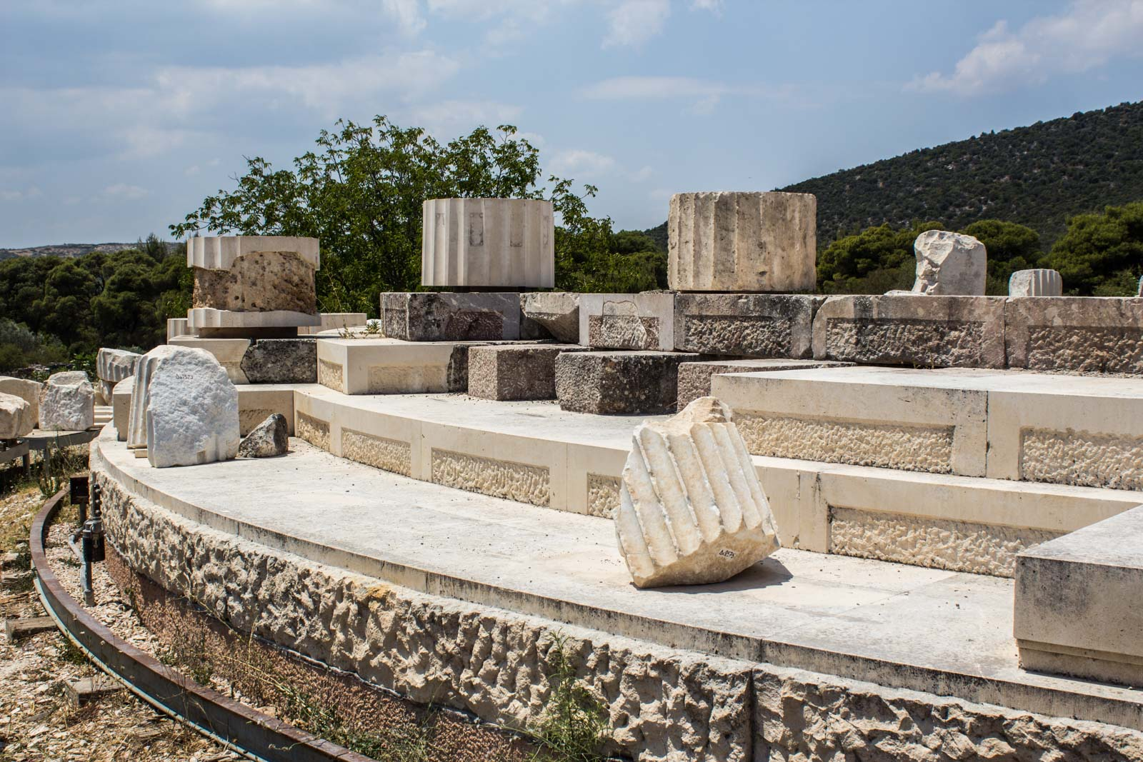 Epidaurus Sanctuary and Theatre at Asklepios, Greece,