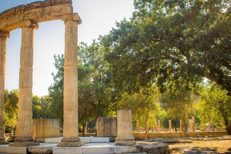 Ancient Olympia, Site of original Olympics, Greece