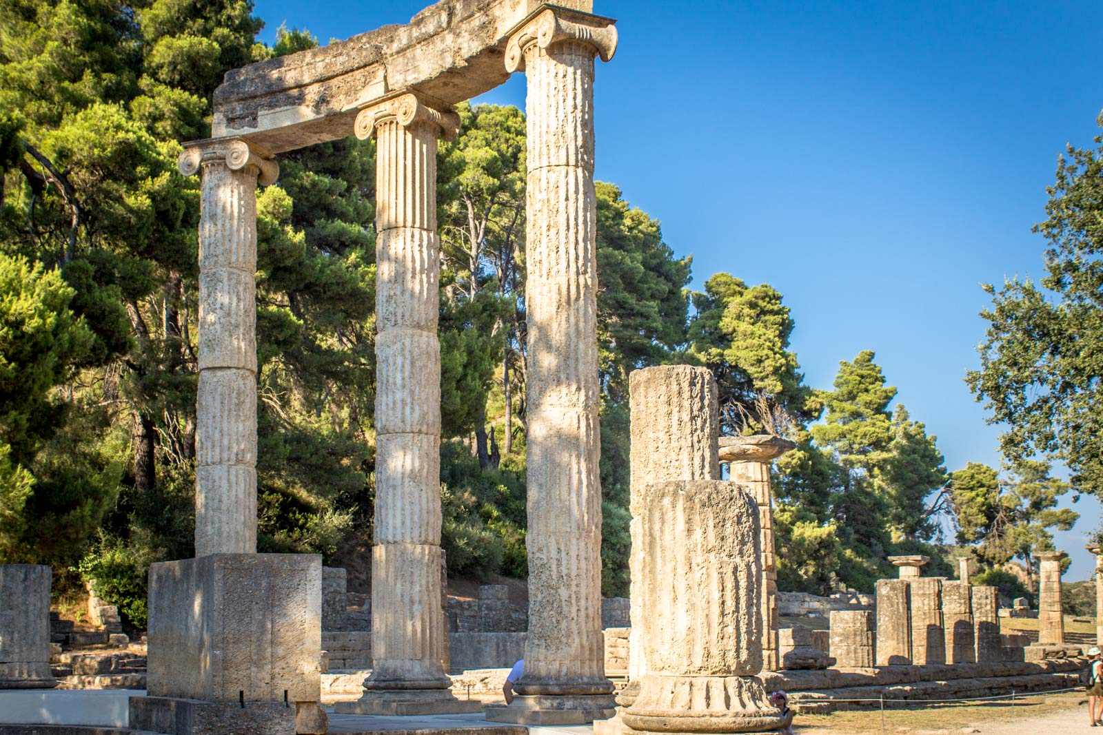 Ancient Olympia, Site of original Olympics, Greece