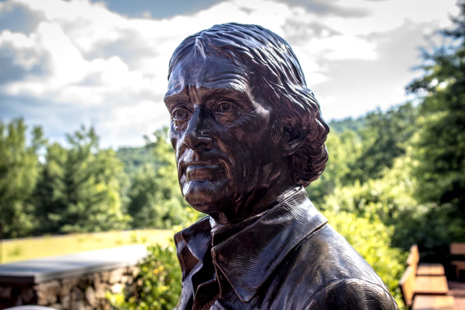 Visiting Monticello, Thomas Jefferson's House, Virginia, USA