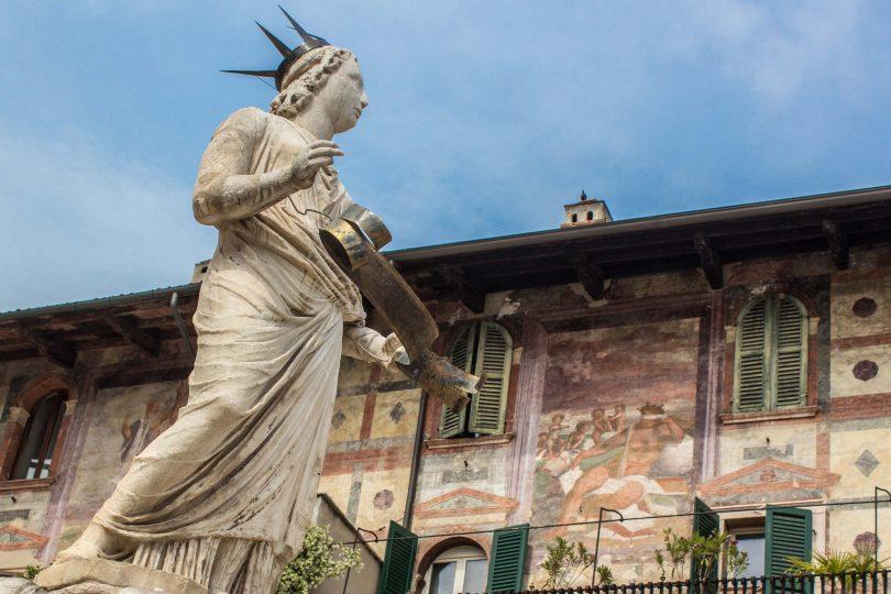 World Heritage Site of Verona, Italy