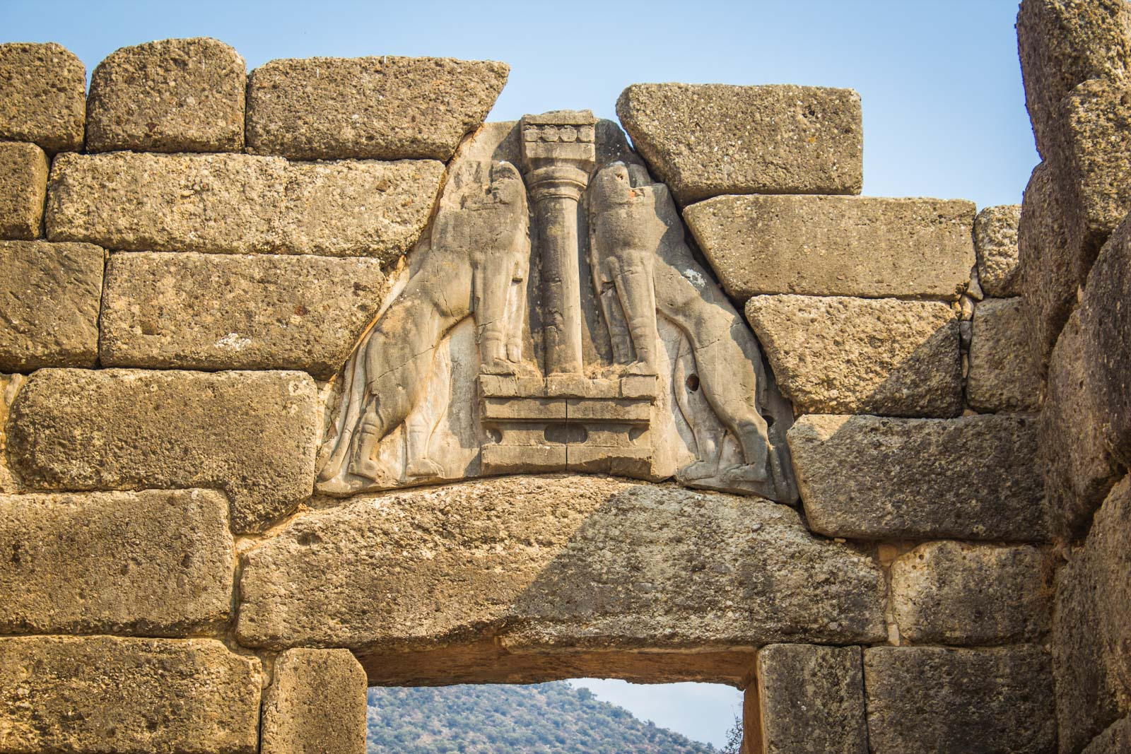 Visiting Archaeological Site of Mycenae, Greece