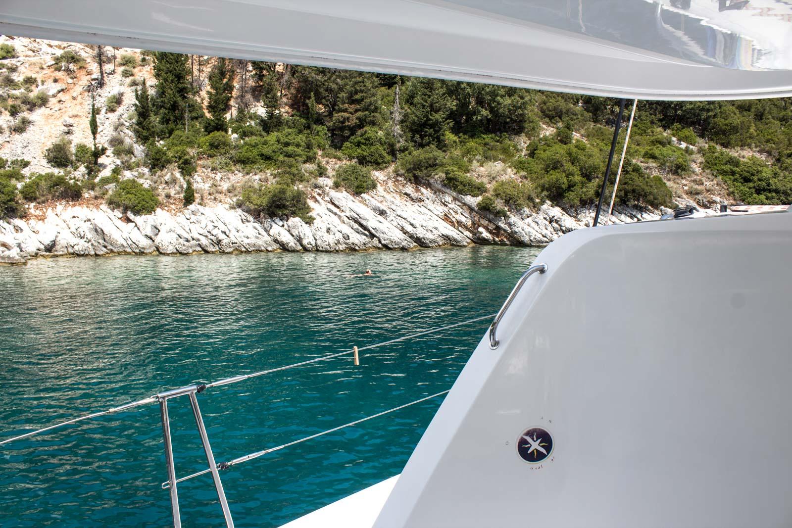 Sailing Ionian Sea Greece