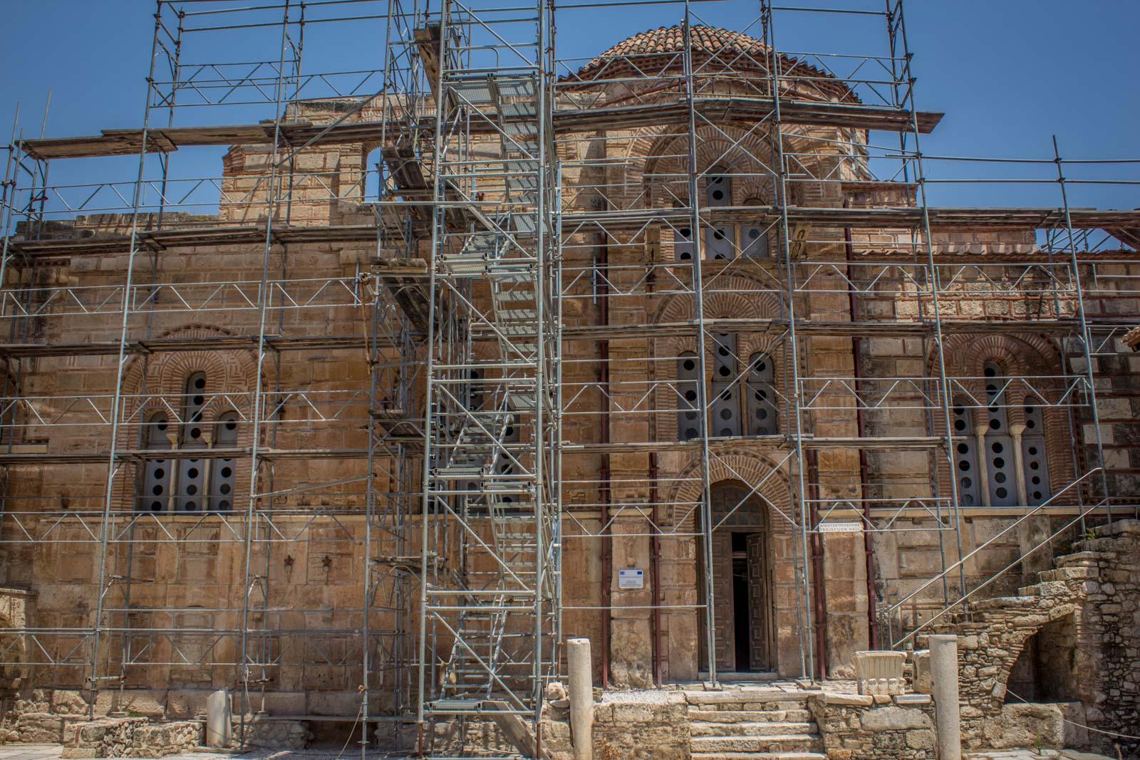 Daphni monastery, Athens, Greece