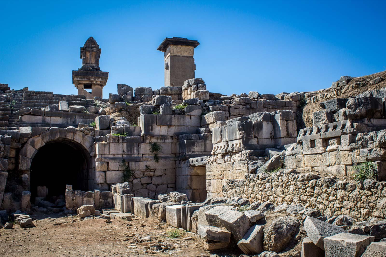 Xanthos Letoon, World Heritage Site, Turkey