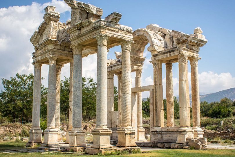 Aphrodisias ruins in Turkey