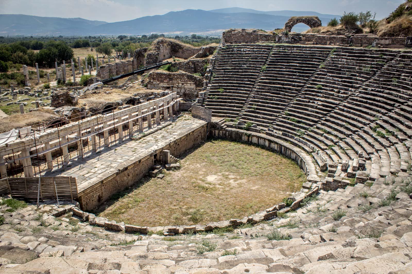 Aphrodisias ruins in Turkey