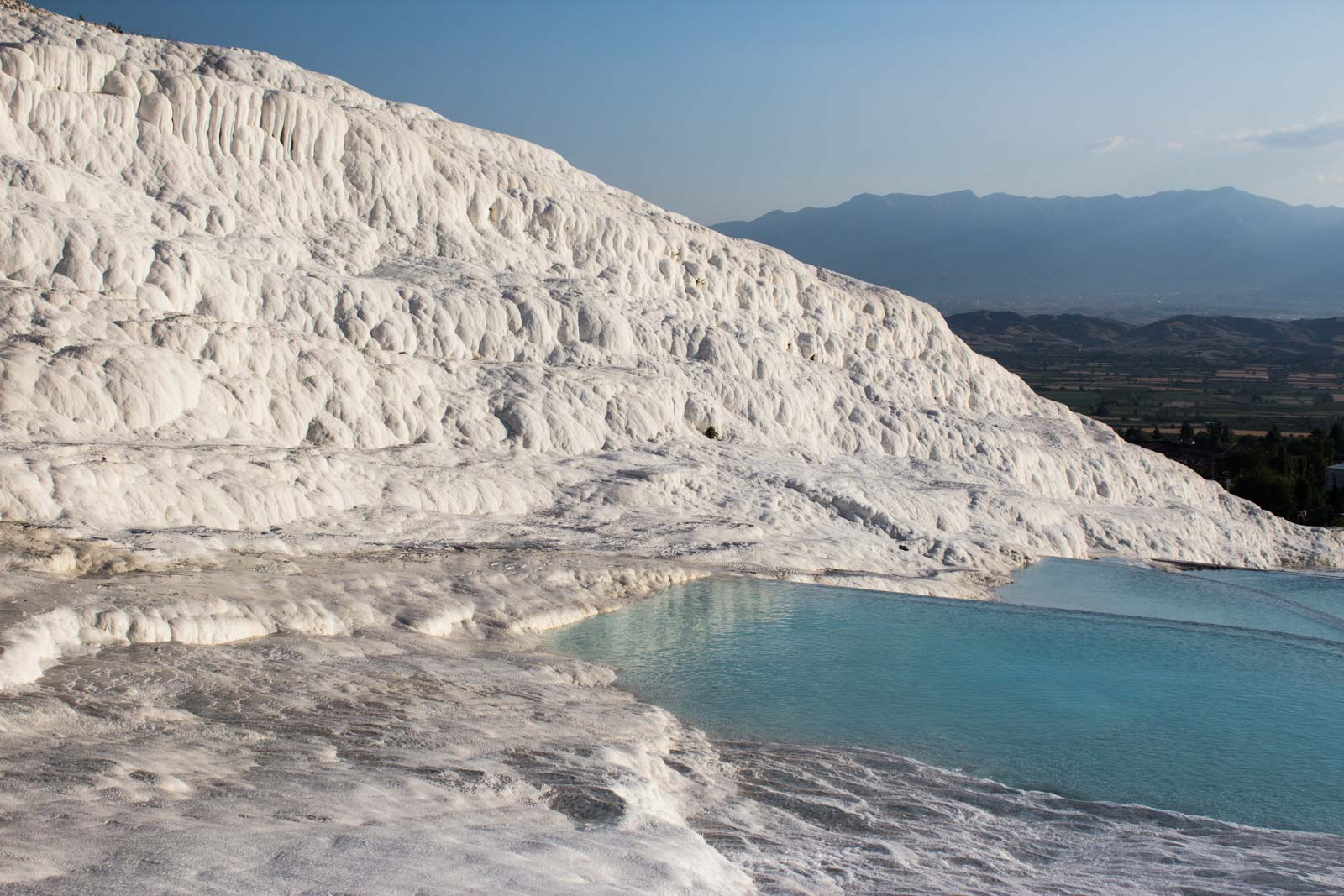 Hierapolis Pamukkale travertines, Turkey