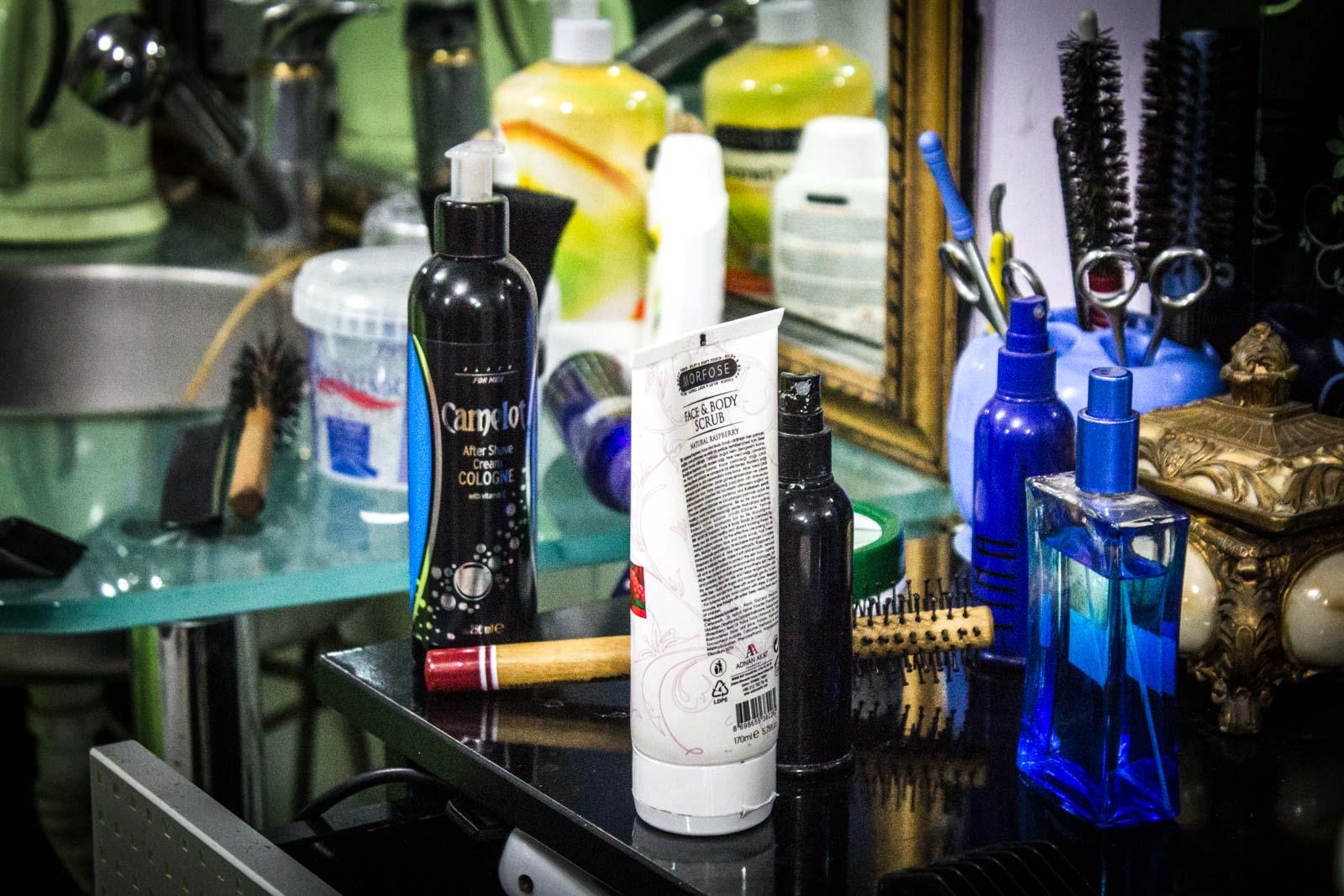 haircut, Turkish Barber in Istanbul