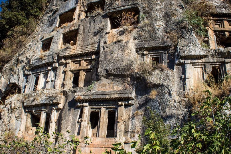 Tombs of Fethiye