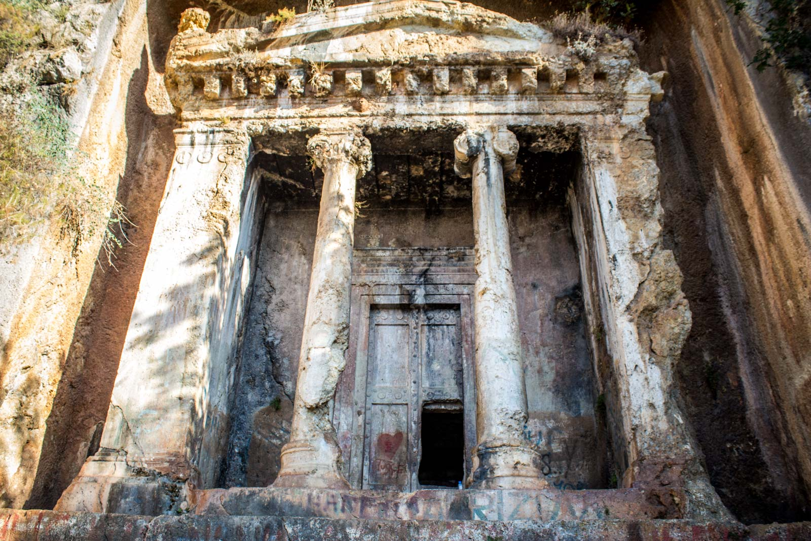 Fethiye Tombs, Lycian Tombs, Turkey