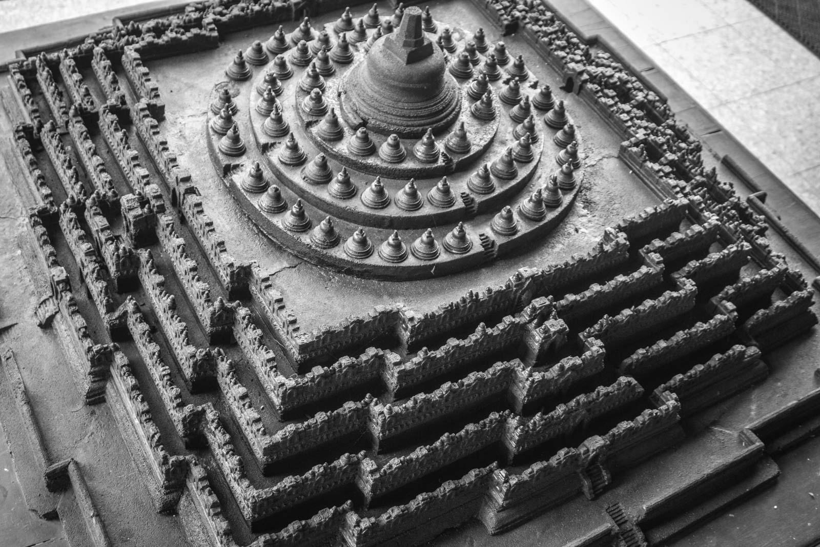 Borobudur Temple, Largest Buddhist Temple, Indonesia
