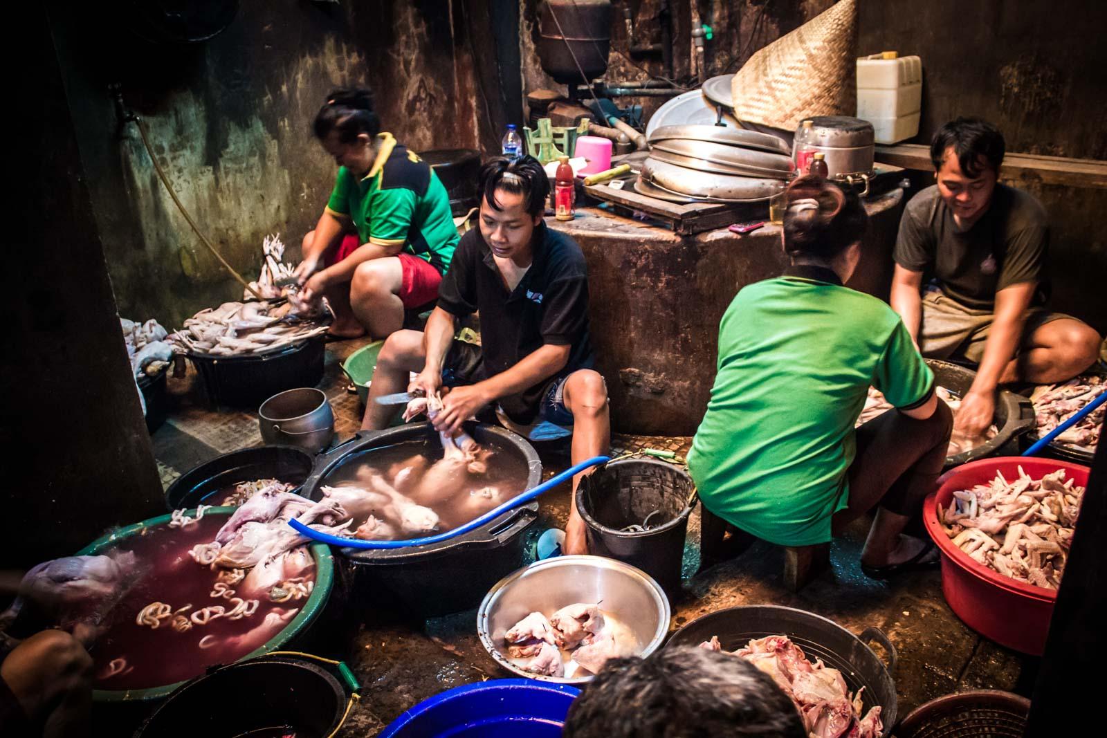 Gudeg Yu Djum restaurant, Yogyakarta, Indonesia