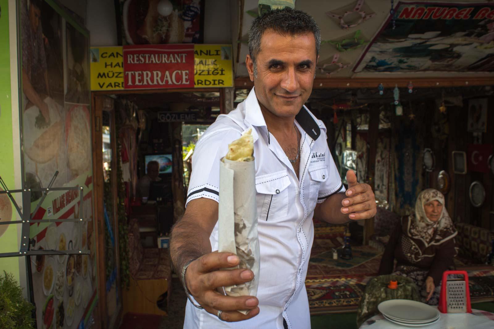 How to Make Gozleme, Turkey