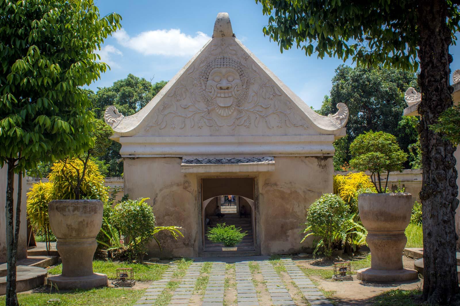 Taman Sari Water Palace, Yogyakarta, Indonesia