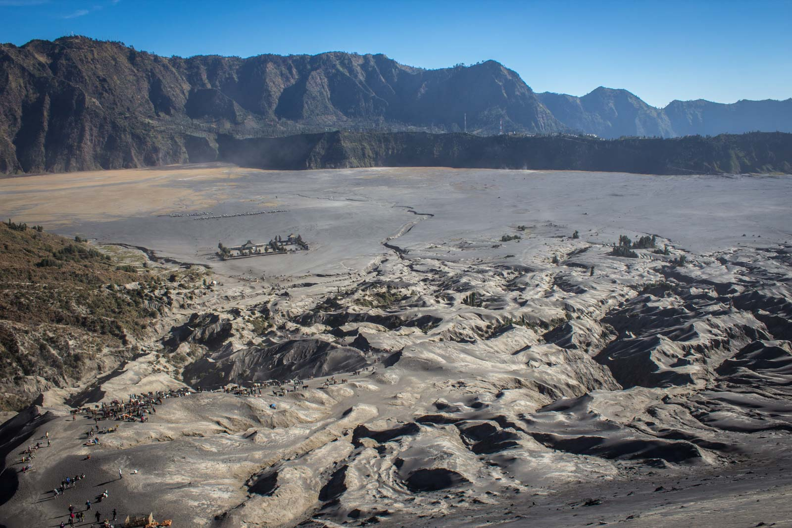 Visiting Mount Bromo for sunrise, Indonesia