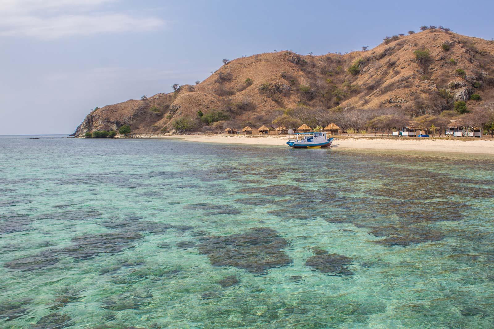 Pink Beach, Kanawa Beach, Komodo National Park, Indonesia