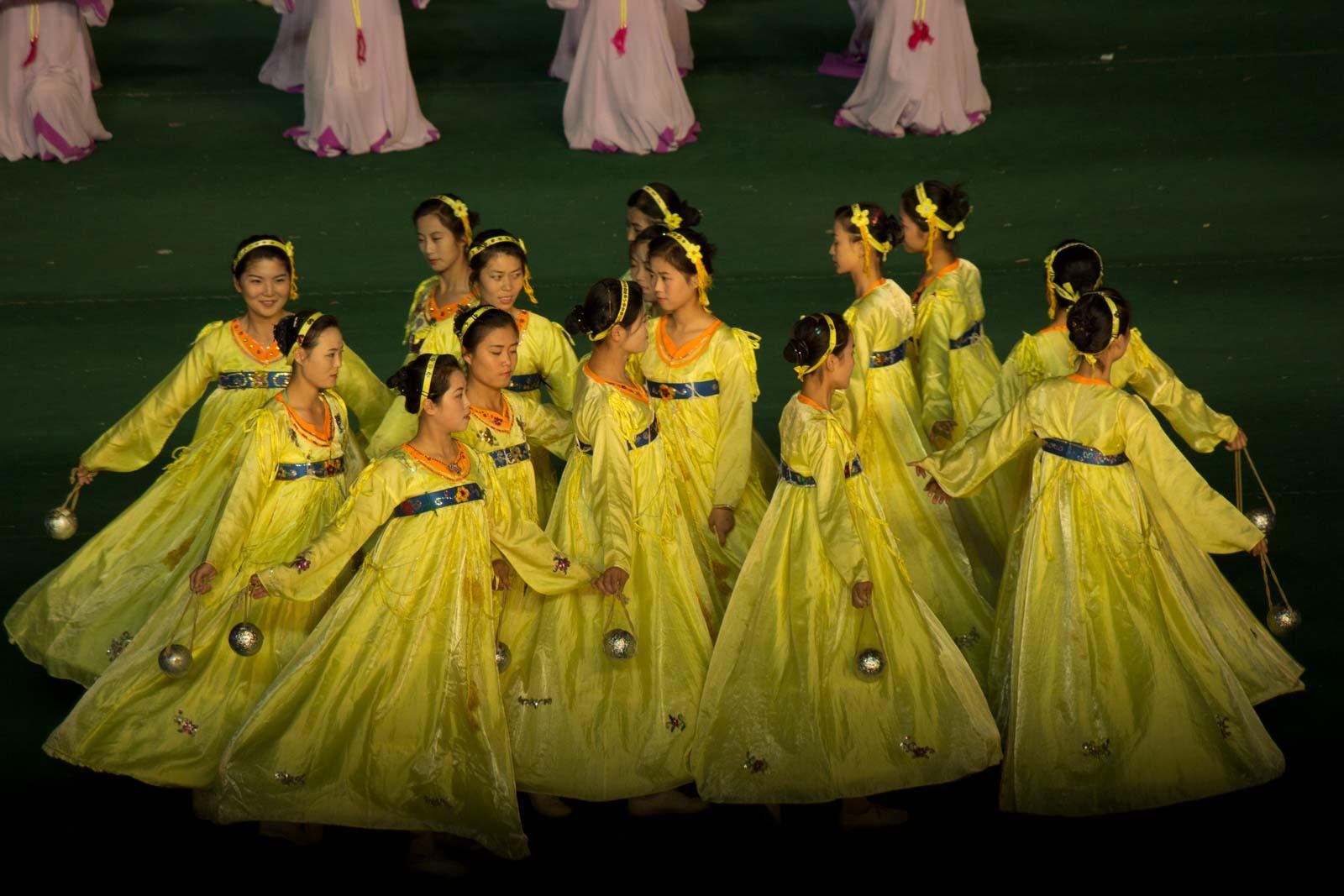 The Mass Games, Pyongyang, North Korea